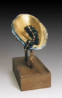 Dan Woodard Artwork Seed Pod, 2009 Mixed Media Sculpture, Abstract
