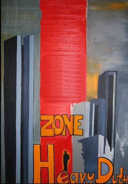 Artist Karin Perez. 'Zone Heavy Duty' Artwork Image, Created in 2006, Original Painting Acrylic. #art #artist