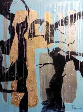 Dariya Afanaseva Artwork autumn rain, 2014 autumn rain, Abstract Landscape