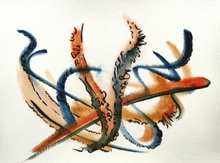 Dave Martsolf Artwork Harvest, 2007 Watercolor, Abstract