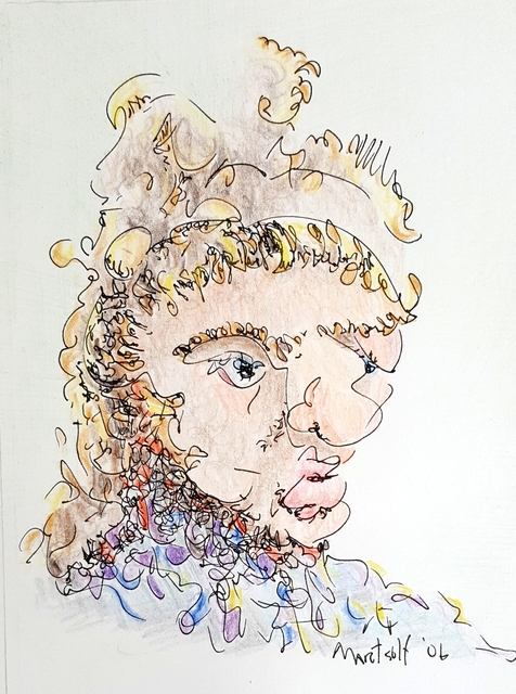 dave martsolf artwork alexander the great original drawing other