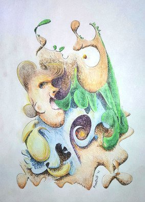 Dave Martsolf: 'the infection', 2002 Other Drawing, Political. Artist Description: This ink and colored pencil piece will ship matted and shrink- wrapped to a size compatible with many economical standard frames available at your local arts and crafts store. ...