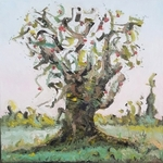 the old fruit tree By Dave Martsolf