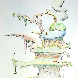 tree house condo man By Dave Martsolf