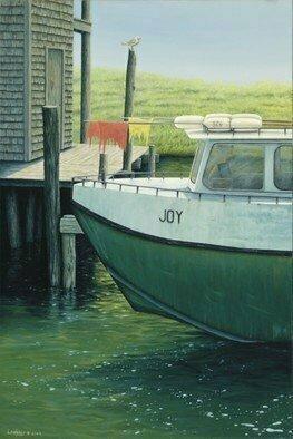 David Larkins Artwork Joy, 2009 Giclee, Marine