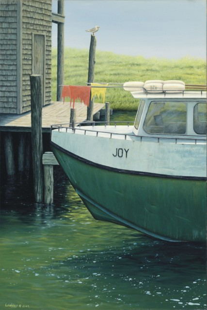 David Larkins  'Joy', created in 2009, Original Giclee Reproduction.