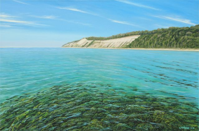 David Larkins  'Pure Michigan', created in 2014, Original Giclee Reproduction.