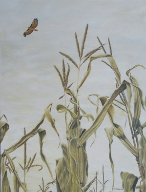 Artist: David Larkins - Title: Soaring - Medium: Acrylic Painting - Year: 2011