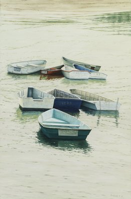 David Larkins: 'The Tide is Turning', 2011 Giclee, Marine.
