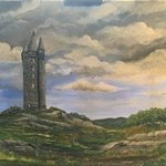 scrabo tower co down By David Carson