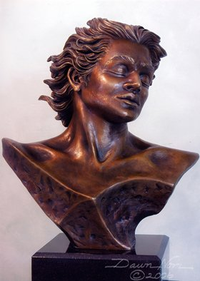 Bronze Sculpture by Dawn Feeney titled: Adonis, 2005