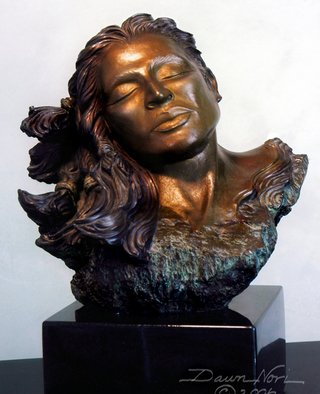 Bronze Sculpture by Dawn Feeney titled: Amaqua, 2005