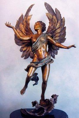 Bronze Sculpture by Dawn Feeney titled: Divine Romance, 2006