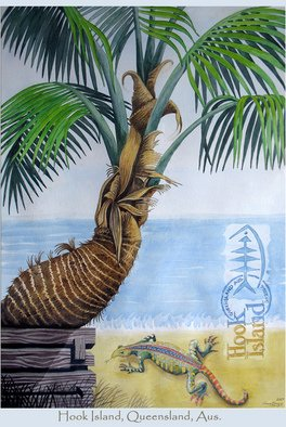 Artist: Dawn Bruyns - Title: Hook Island,Queensland  - Medium: Watercolor - Year: 2007