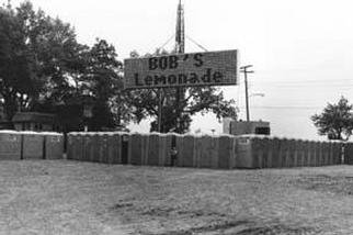 D. Brent Miller: 'Bobs Lemonade', 1996 Black and White Photograph, Americana. From the documentary project Fairs & Festivals. ...