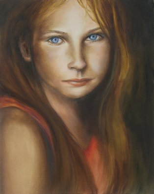 Artist: Dana Dabagia - Title: Talk to Me - Medium: Oil Painting - Year: 2011