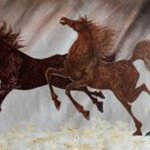 galloping horses 57 By Debabrata Biswas