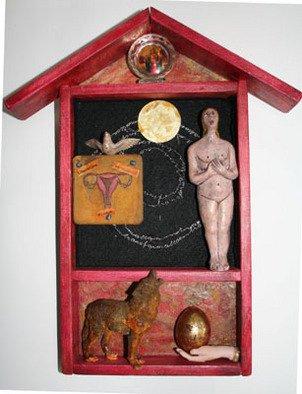 Barbara Melnik Carson Artwork 'A Powerful Pause', 2008. Mixed Media Sculpture. Healing. ...
