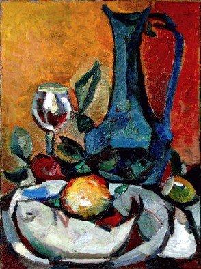 Artist: Basha Aziz - Title: still life - Medium: Oil Painting - Year: 2013