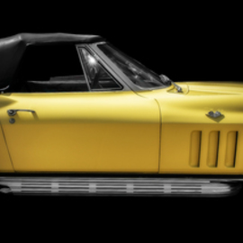 Dennis Gorzelsky: 'coolsville', 2019 Digital Photograph, Automotive. Artist Description: I have always loved the look of the Corvette, and when I spotted this one, I knew I was looking at a real beauty. ...