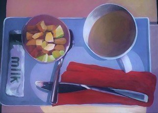 Denise Dalzell: 'Breakfast East of Greenland', 2016 Acrylic Painting, Representational. painting, breakfast east of greenland, illustration, espressionism, pop art, modern, realism...