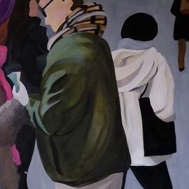 Denise Dalzell Artwork twosome, 2019