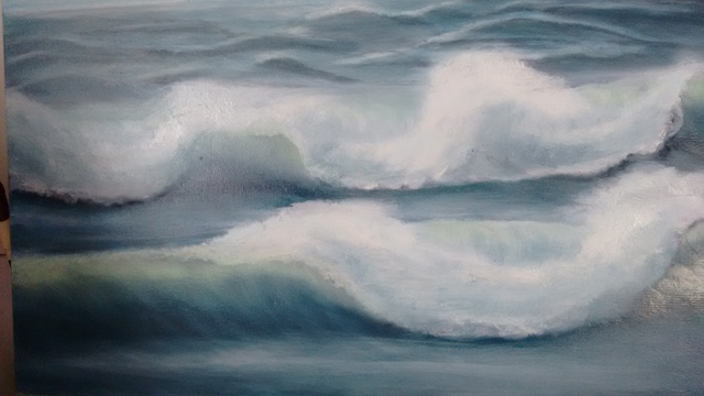 Denise Seyhun  'Ocean Breeze', created in 2016, Original Other.