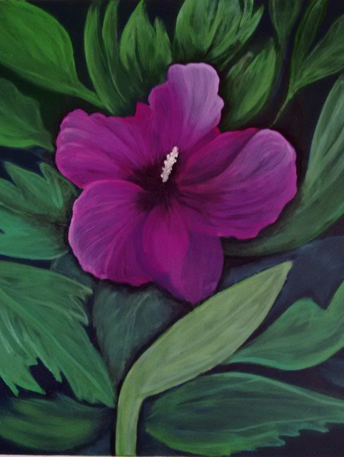 Artist Denise Seyhun. 'Rose Of Sharon' Artwork Image, Created in 2016, Original Other. #art #artist
