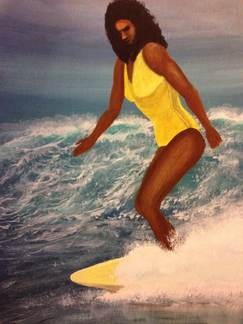 Denise Seyhun  'SURFER', created in 2015, Original Other.