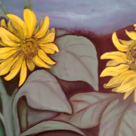 Sunflowers  By Denise Seyhun