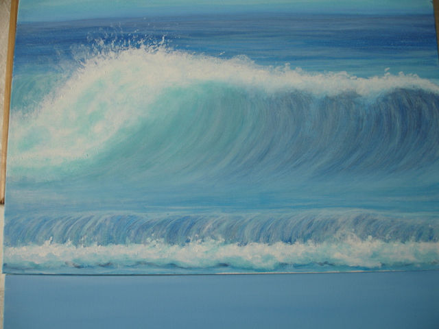 Denise Seyhun  'The Wave', created in 2015, Original Other.