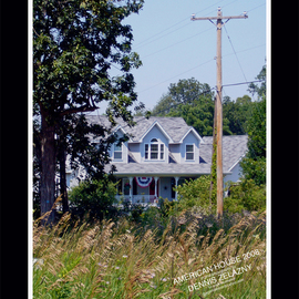 Dennis Zelazny: 'American House', 2008 Color Photograph, World Culture. Artist Description:  American House was taken just out side of the city, in western Michigan ...