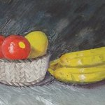 Fruit Still Life, Denys Katz Harvell