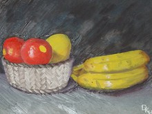 - artwork Fruit_Still_Life-1350493828.jpg - 2005, Pastel Oil, Still Life