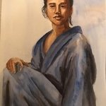 man in a robe By Deborah Paige Jackson
