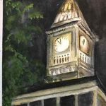 the clock tower By Deborah Paige Jackson