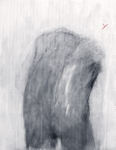 - artwork Study_of_instability-1153233395.jpg - 2006, Drawing Charcoal, Figurative