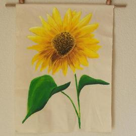 Sunflower wall hanging By Desray Lithgow
