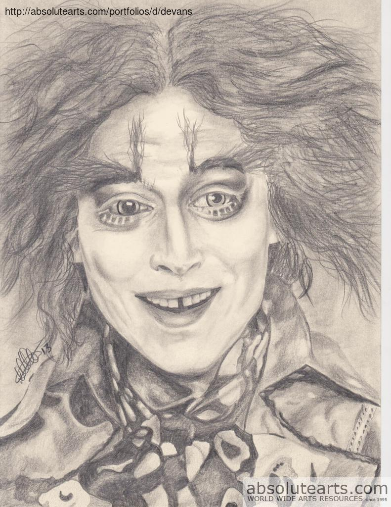 Dallas Evans Artwork: Johnny Depp | Original Drawing ...