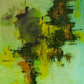 original abstract art By Dharshani Haththotuwa