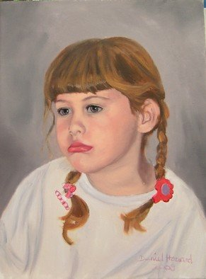 Daniel Howard Artwork Dont Cry, 2008 Oil Painting, Portrait