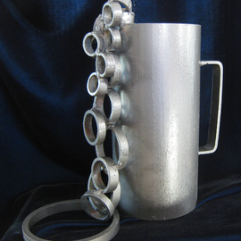 Diana Carey Artwork My Cup Runneth Over, 2014 Steel Sculpture, Abstract