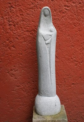 Diego Garcia Stern: 'Maria', 2008 Stone Sculpture, Abstract.
