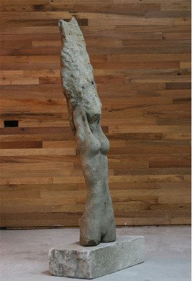 Diego Garcia Stern: 'Melissa', 2007 Stone Sculpture, Nudes. Artist Description:  stone sculpture, who bring us the perfection of a girl becomingo fo the stone. ...