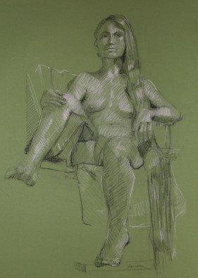 David Diener Artwork dancing school, 2008 Pastel, Figurative