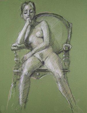 David Diener Artwork on the water, 2008 Pastel, Erotic