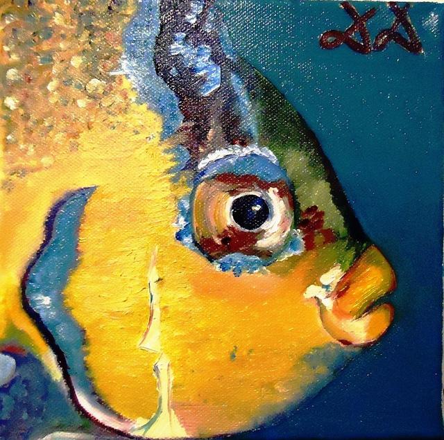 Diana Diamandieva 'Blue angelfish' - 259.1KB