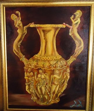 Culture Oil Painting by Diana Diamandieva Title: amfora riton, created in 2012