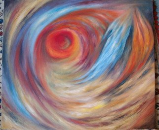Dilek Degerli: 'metaphore', 2010 Oil Painting, Abstract.  oil on canvas ...