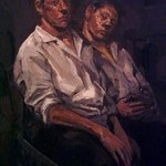 2 seated figures By Dina Elsayed Imam